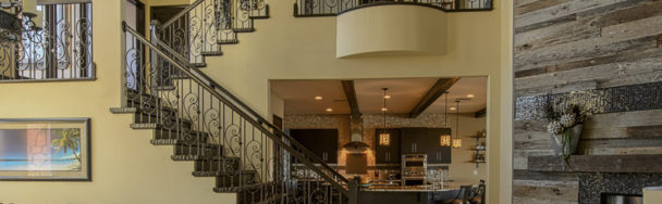 A full view of the Interior Design with Transitional Design Details